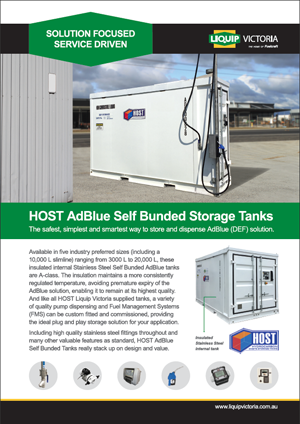 AdBlue Tanks brochure